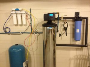whole house water filter and reverse osmosis